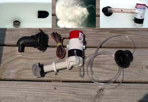 the aerator that will keep bait and fish such as bass alive in baitwells  and livewells longer  portable and permanent aeration systems